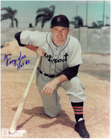 George Kell Autographed Detroit Tigers 8x10 Photo #3