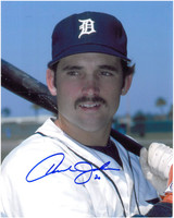 Howard Johnson Autographed Detroit Tigers 8x10 Photo #3