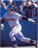 Howard Johnson Autographed Detroit Tigers 8x10 Photo #2