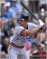 Howard Johnson Autographed Detroit Tigers 8x10 Photo #1