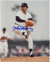 Willie Hernandez Autographed Detroit Tigers 8x10 Photo #3