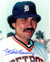 Willie Hernandez Autographed Detroit Tigers 8x10 Photo #1