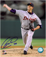 Armando Galarraga Autographed Detroit Tigers 8x10 Photo #1