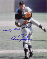 Bill Freehan & Mickey Lolich Autographed 1968 World Series 8x10 Photo #1