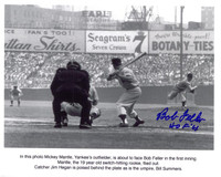 Bob Feller Autographed Cleveland Indians 8x10 Photo #4