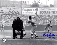 Bob Feller Autographed Cleveland Indians 8x10 Photo #3
