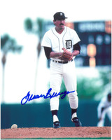 Juan Berenguer Autographed Detroit Tigers 8x10 Photo #4
