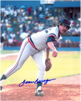 Juan Berenguer Autographed Detroit Tigers 8x10 Photo #3