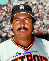 Juan Berenguer Autographed Detroit Tigers 8x10 Photo #2
