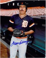 Juan Berenguer Autographed Detroit Tigers 8x10 Photo #1