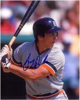 Doug Baker Autographed Detroit Tigers 8x10 Photo #2