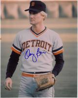 Doug Bair Autographed Detroit Tigers 8x10 Photo #2