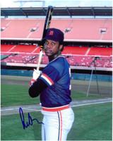 Rod Allen Autographed Detroit Tigers 8x10 Photo #2