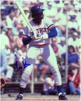 Rod Allen Autographed Detroit Tigers 8x10 Photo #1
