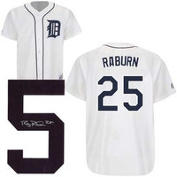 Ryan Raburn Autographed Detroit Tigers Home Jersey