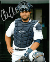 Alex Avila Autographed Detroit Tigers 16x20 Photo #5 - Posed in Gear