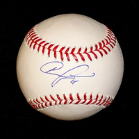 Austin Jackson Autographed Baseball - Official Major League Ball