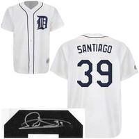 Ramon Santiago Autographed Detroit Tigers Jersey