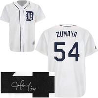 Joel Zumaya Autographed Detroit Tigers Jersey
