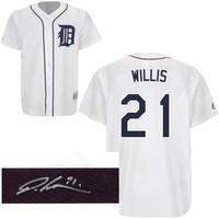 Dontrelle Willis Autographed Detroit Tigers Jersey
