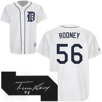 Fernando Rodney Autographed Detroit Tigers Jersey
