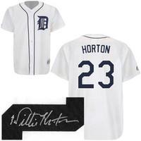 Willie Horton Autographed Detroit Tigers Jersey