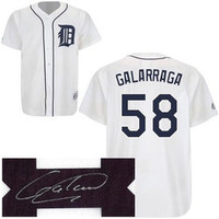 Armando Galarraga Autographed Detroit Tigers Jersey