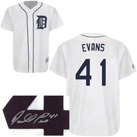 Darrell Evans Autographed Detroit Tigers Jersey