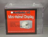 Mini Helmet Cube Display Case by Ballqube