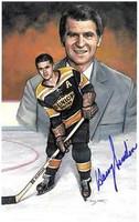 Harry Sinden Autographed Legends of Hockey Card