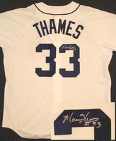 Marcus Thames Autographed Detroit Tigers Jersey