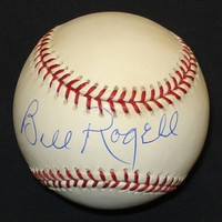 Bill Rogell Autographed Baseball - Official Major League Ball