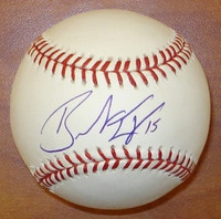Brandon Inge Autographed Baseball -  Official Major League Ball