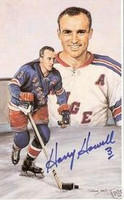 Harry Howell Autographed Legends of Hockey Card