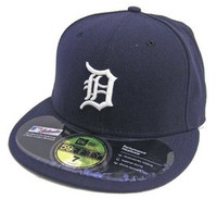 Detroit Tigers Home New Era 5950 Hat