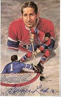 Elmer Lach Autographed Legends of Hockey Card