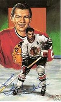 Stan Mikita Autographed Legends of Hockey Card