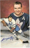 Harry Watson Autographed Legends of Hockey Card