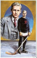 Hobey Baker Legends of Hockey Card #6
