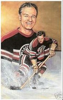 Bill Mosienko Legends of Hockey Card #22