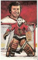 Tony Esposito Legends of Hockey Card #39