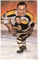 Woody Dumart Legends of Hockey Card #45