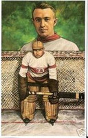 "Harry ""Hap"" Holmes Legends of Hockey Card #49"