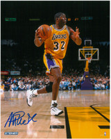 Magic Johnson Autographed LA Lakers 8x10 Photo #5 - Action