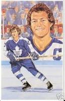Darryl Sittler Legends of Hockey Card #67