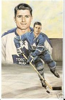 Allan Stanley Legends of Hockey Card #66