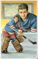 Chuck Rayner Legends of Hockey Card #80