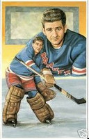 Chuck Rayner Legends of Hockey Card #80