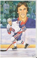 Mike Bossy Legends of Hockey Card #87