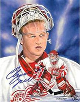 Chris Osgood Autographed Limited Edition Lithograph
